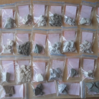 Samples clay